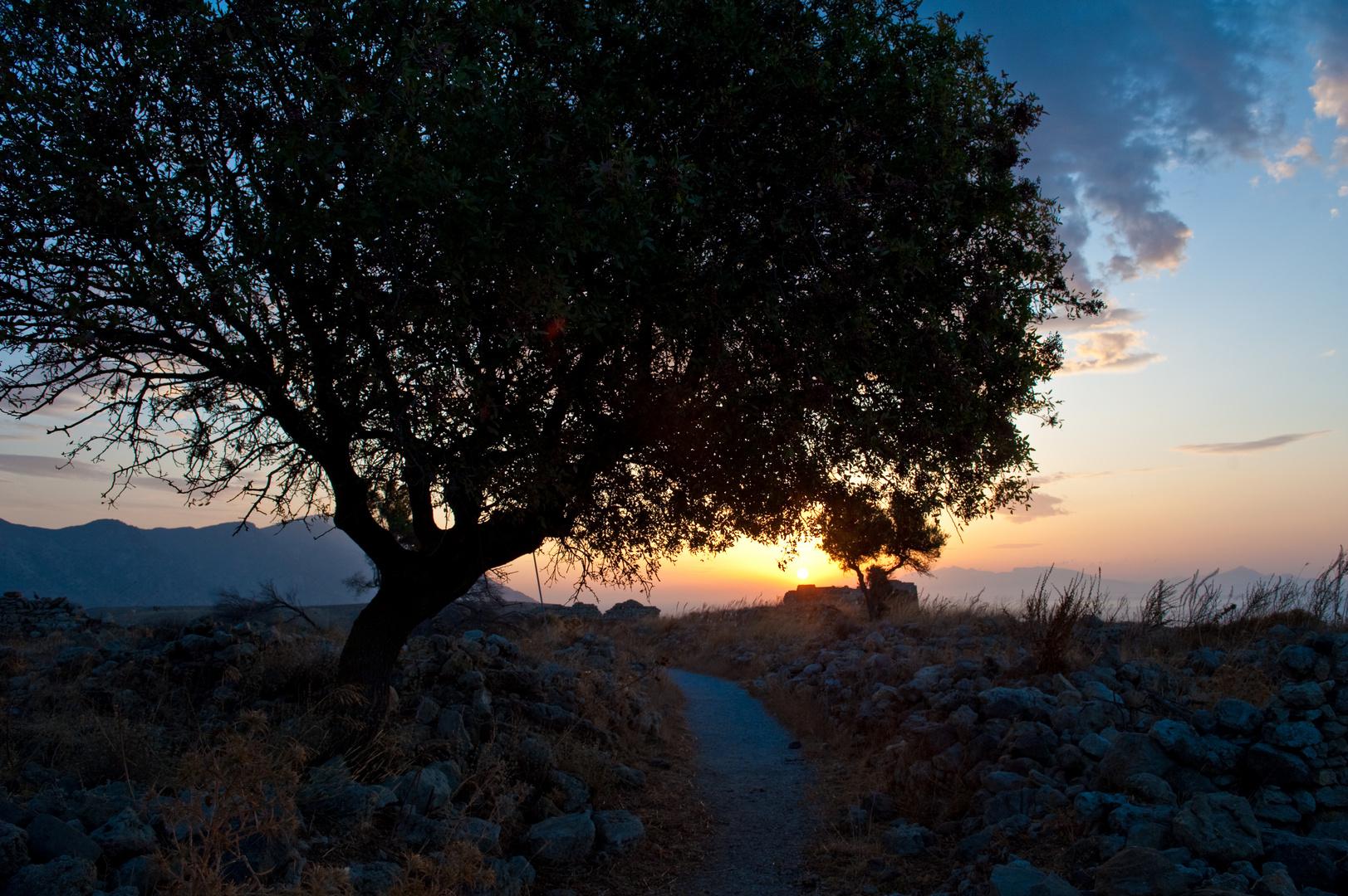 Sonnenaufgang in Kos II