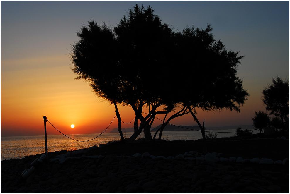 Sonnenaufgang in Kreta