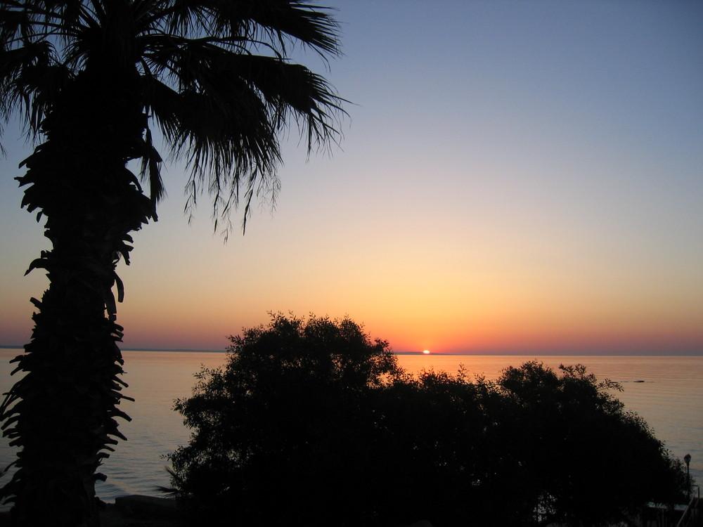 Sonnenaufgang in Larnaca