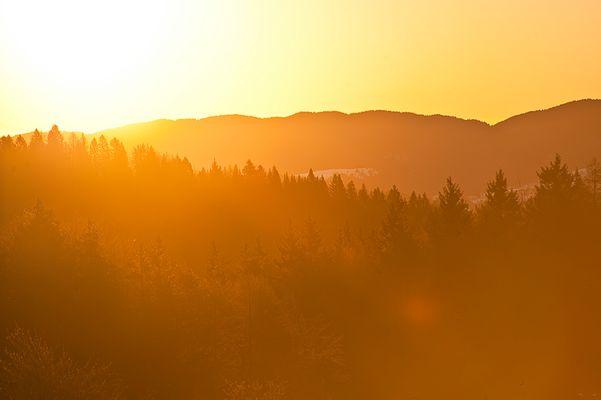Sonnenaufgang in Lavarone