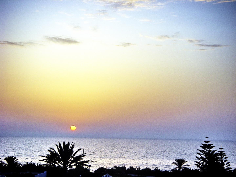 Sonnenaufgang in Mahdia