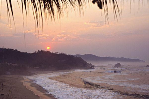 Sonnenaufgang in Mazunte