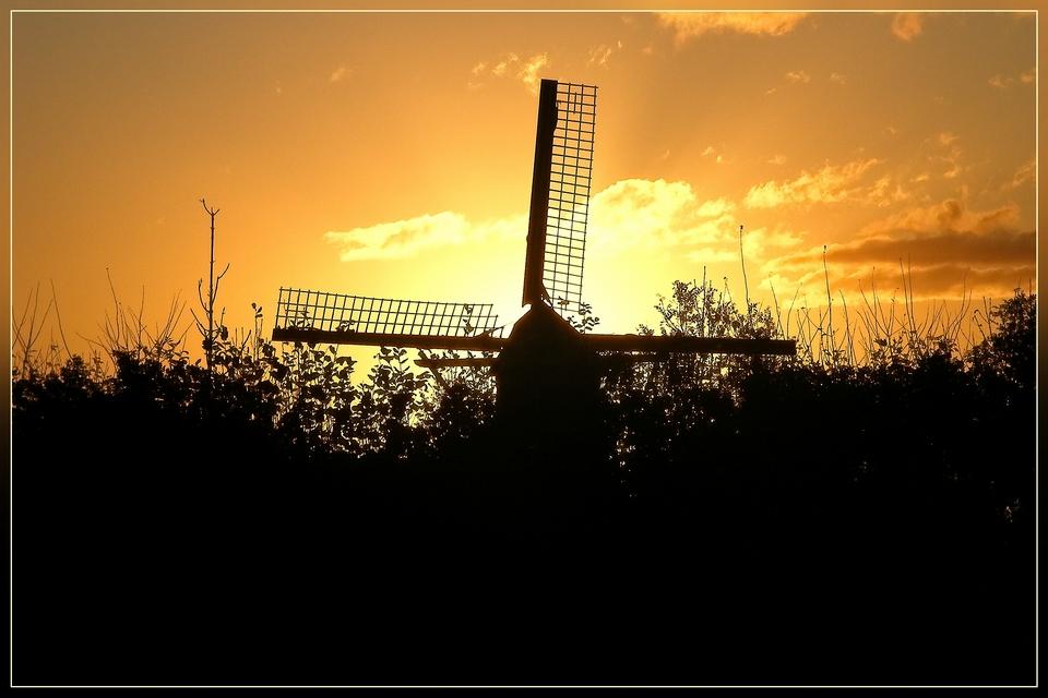 Sonnenaufgang in Meliskerke