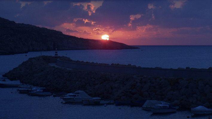 Sonnenaufgang in Mgarr