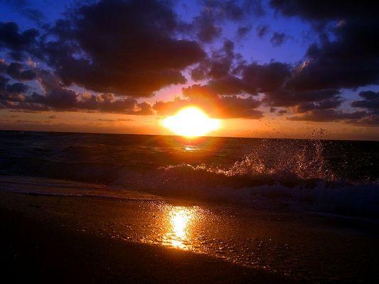 Sonnenaufgang in Miami Beach