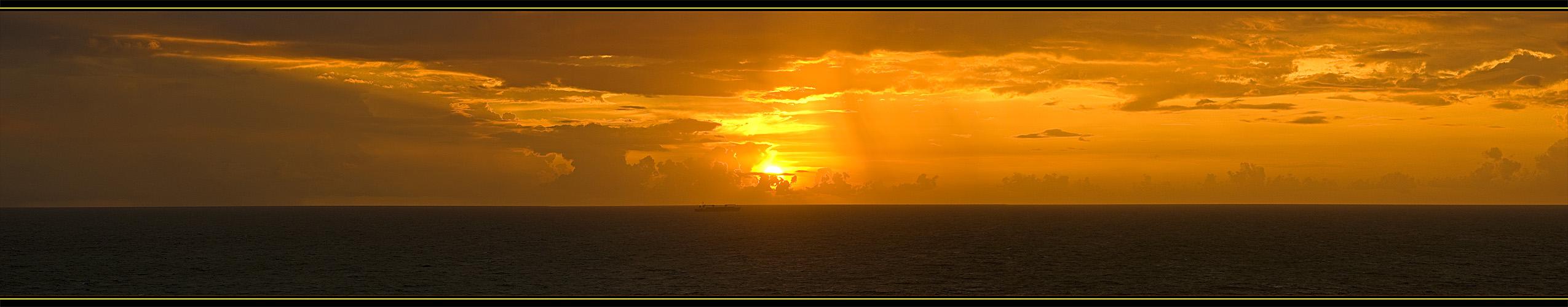 Sonnenaufgang in Miami Beach...