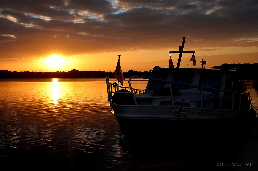 Sonnenaufgang in Mook