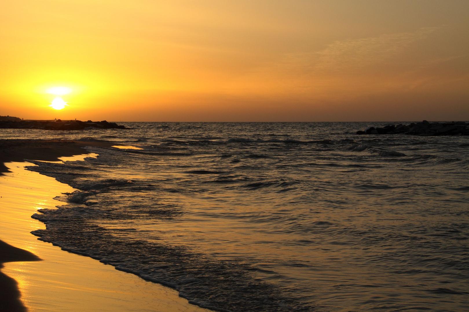 Sonnenaufgang in Nabeul....