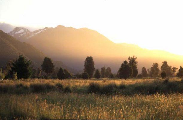Sonnenaufgang in Neuseeland