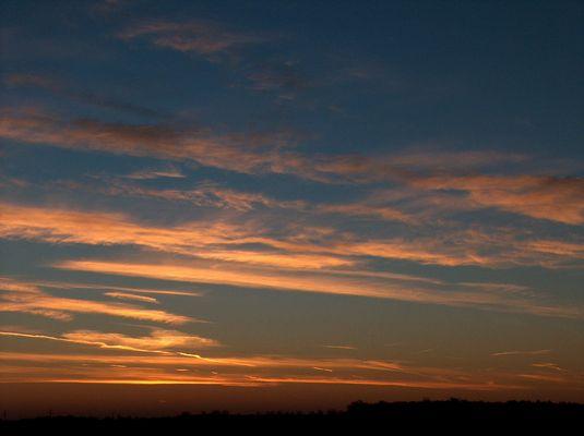 Sonnenaufgang in Neuss (NRW)