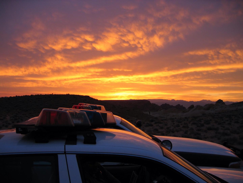 Sonnenaufgang in Nevada