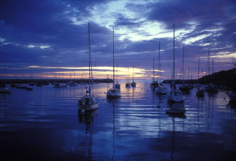 Sonnenaufgang in New England
