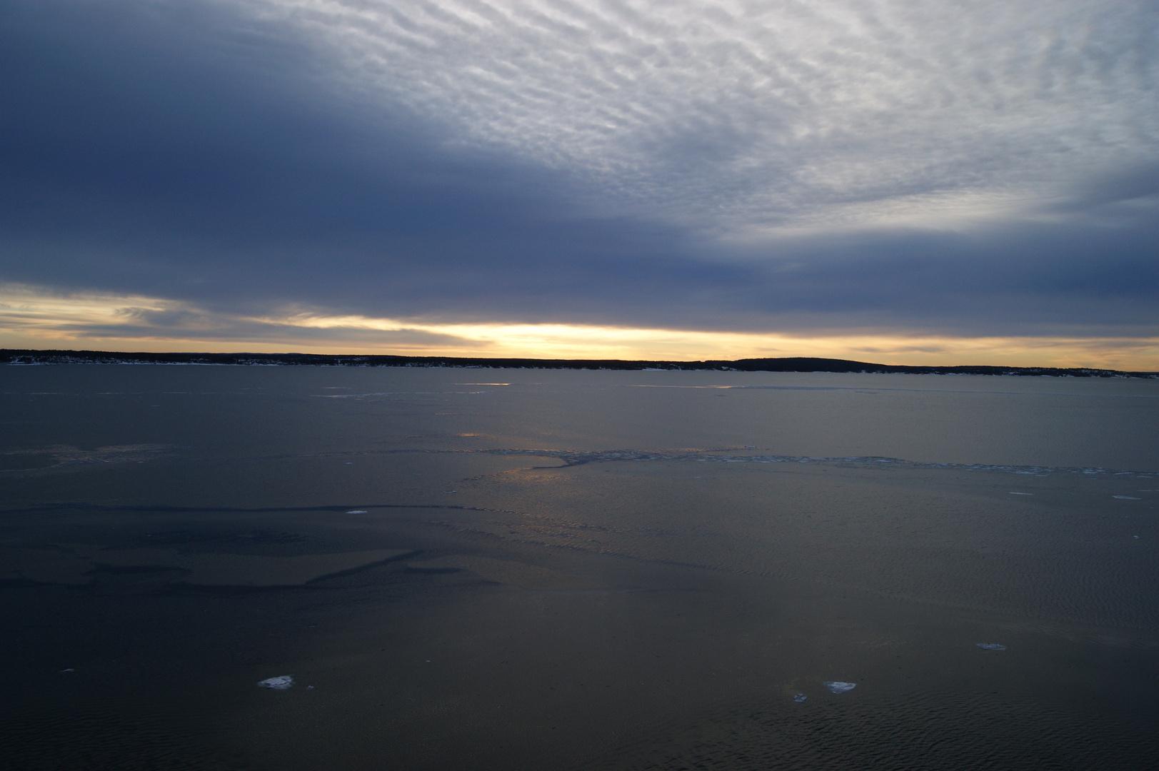 Sonnenaufgang in Norwegen