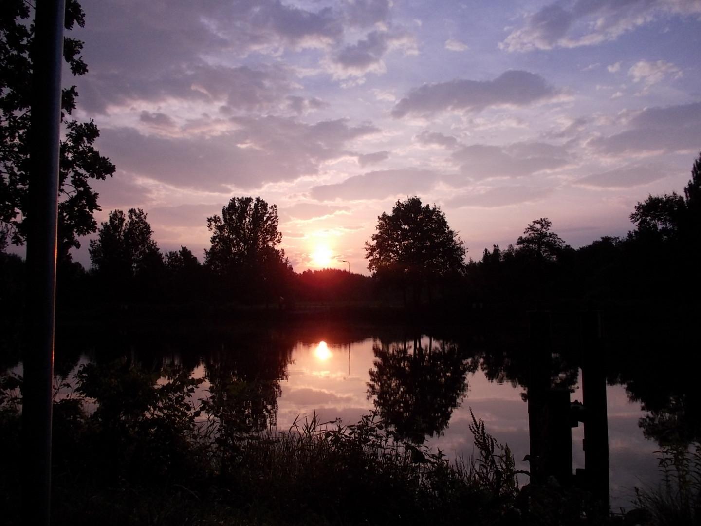 Sonnenaufgang in O-Burg