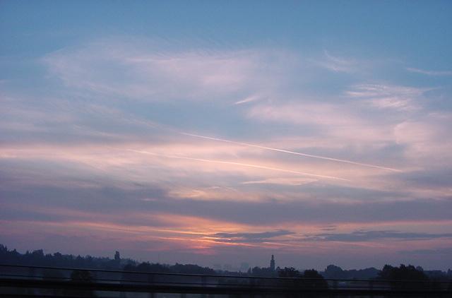 Sonnenaufgang in Österreich