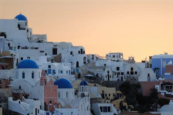 Sonnenaufgang in Oia / Santorini