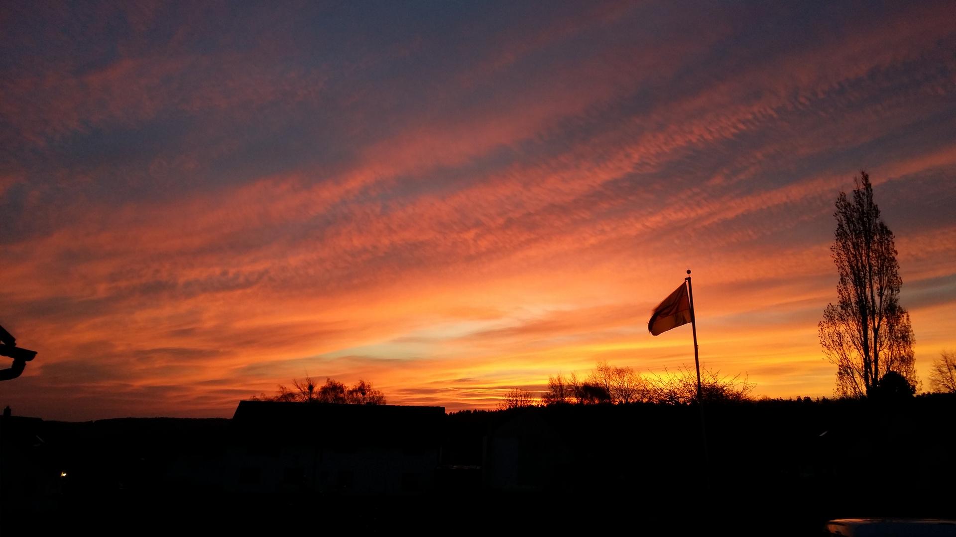 Sonnenaufgang in Orscheid 21,03,14