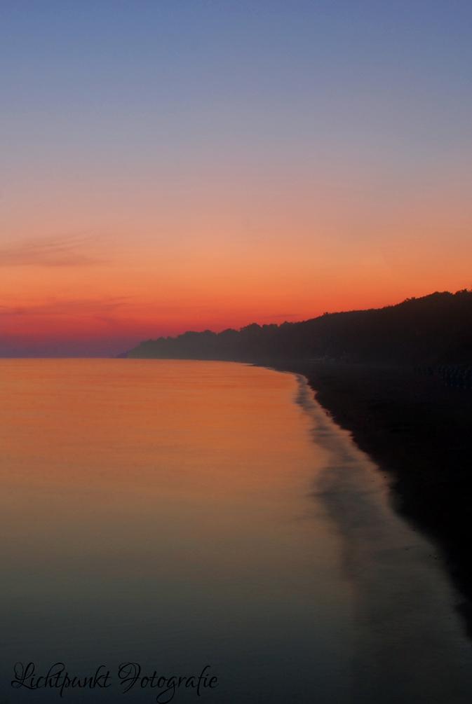 Sonnenaufgang in Rerik