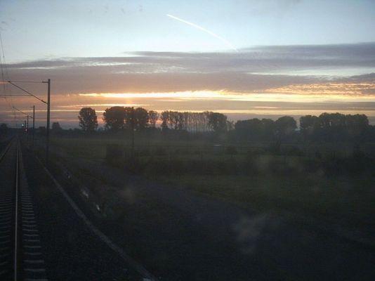 Sonnenaufgang in Rödermark