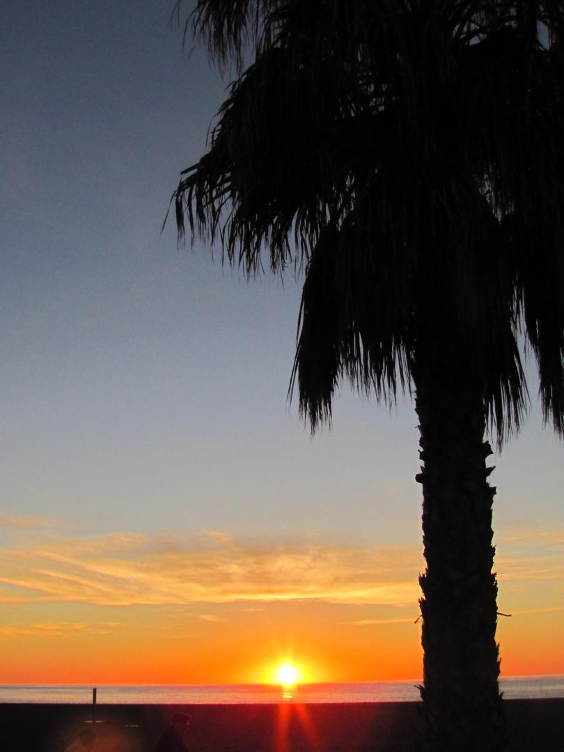 Sonnenaufgang in Roqueta de Mar