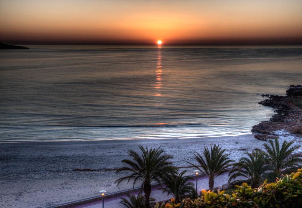 Sonnenaufgang in Sa Coma