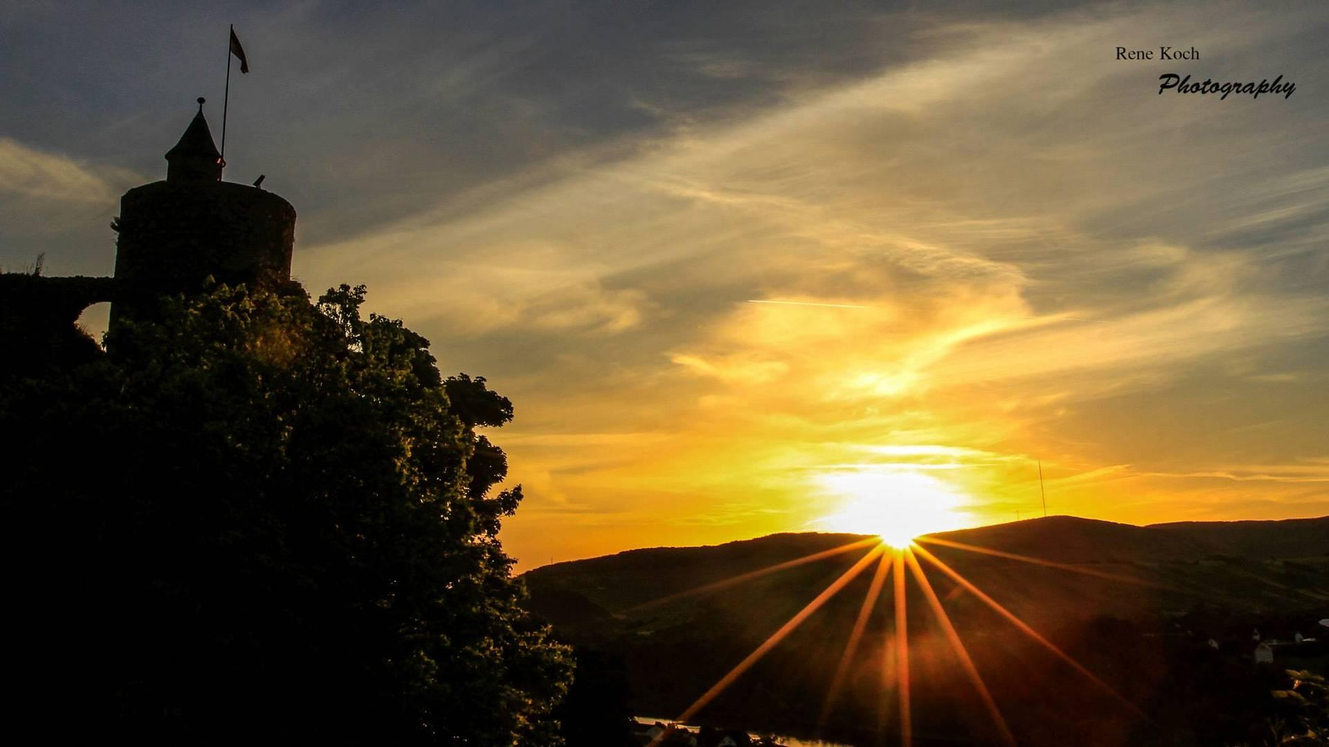Sonnenaufgang in Saarburg