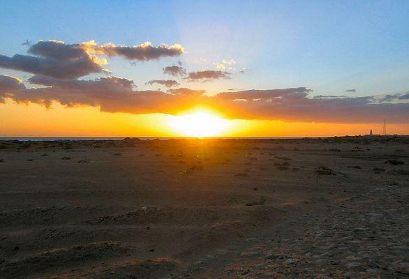 Sonnenaufgang in Safaga