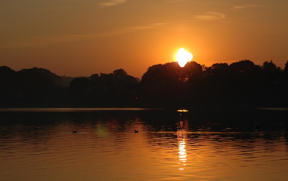 Sonnenaufgang in Solitüde