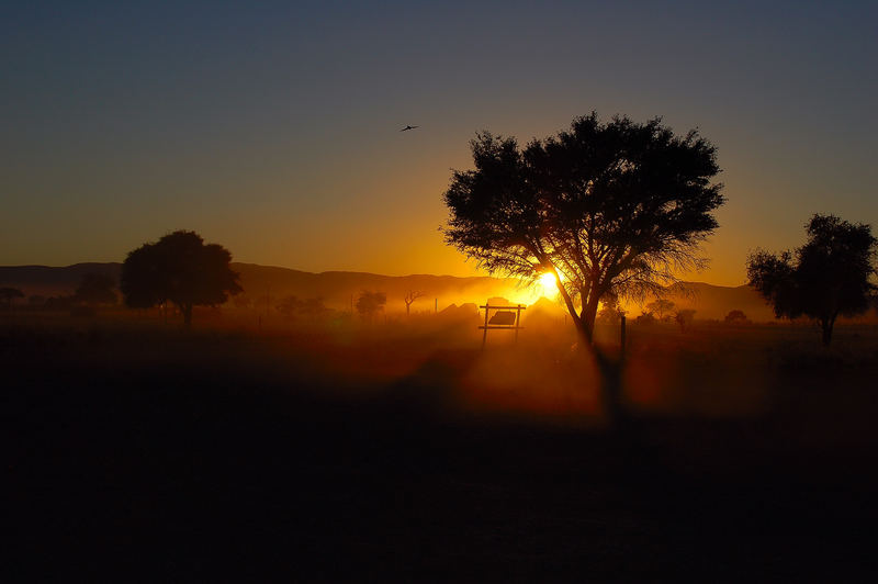Sonnenaufgang in Sossusvlei
