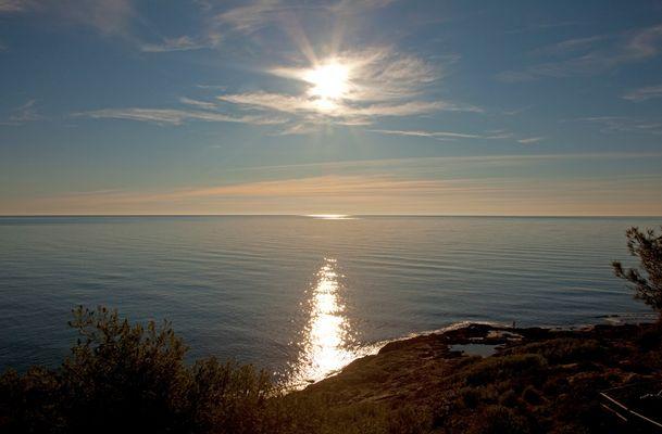 Sonnenaufgang in Spanien, Moraira