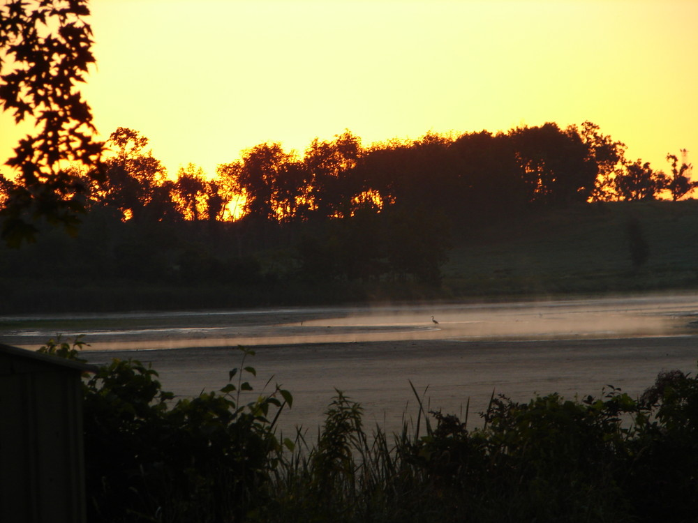 Sonnenaufgang in Stoughton