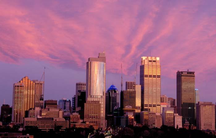 Sonnenaufgang in Sydney