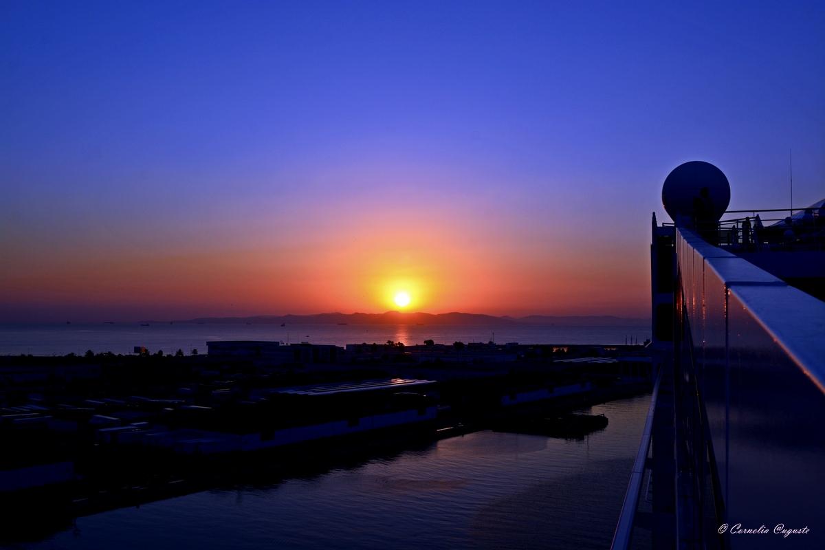 Sonnenaufgang in Tunesien...