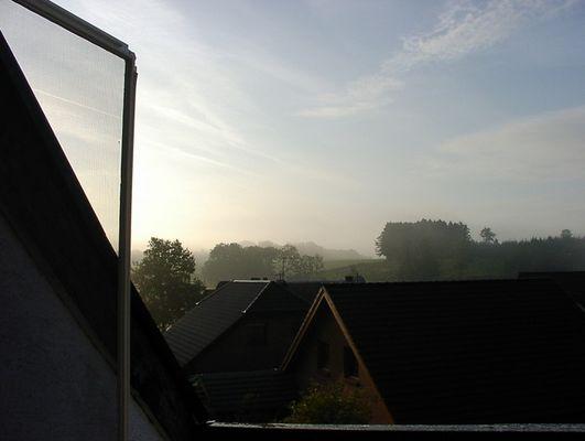Sonnenaufgang in Untergründemich