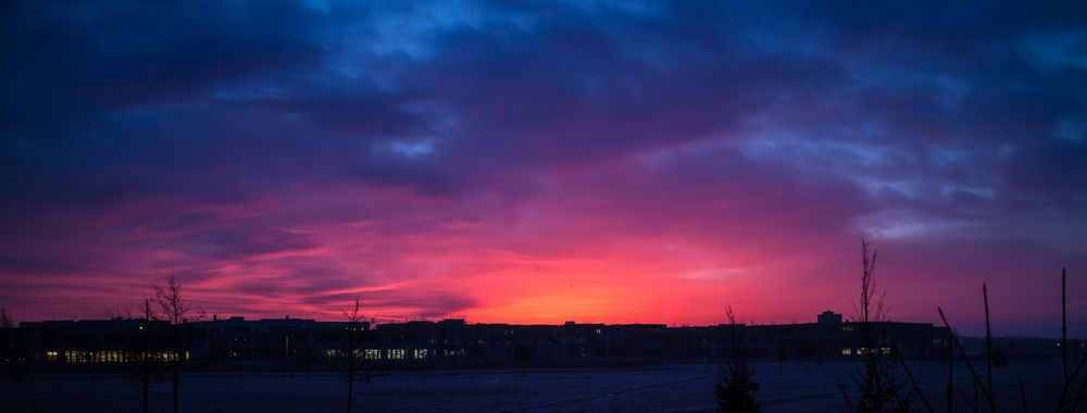 Sonnenaufgang in Unterhaching