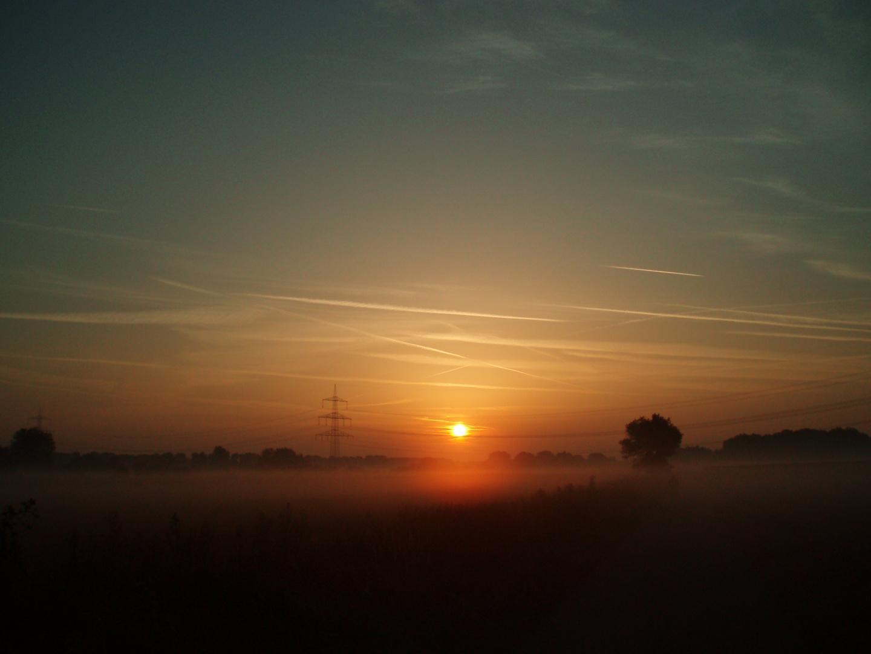 Sonnenaufgang in Viersen