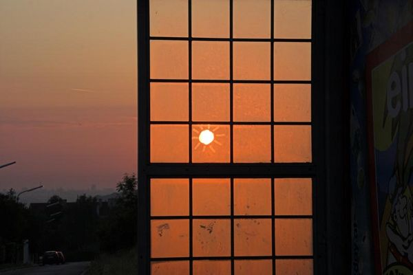 Sonnenaufgang in Wien