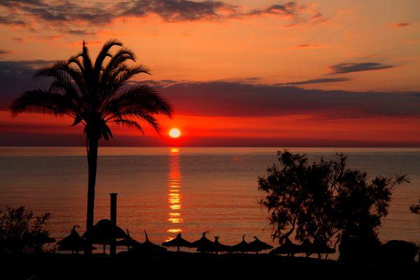 Sonnenaufgang Malle