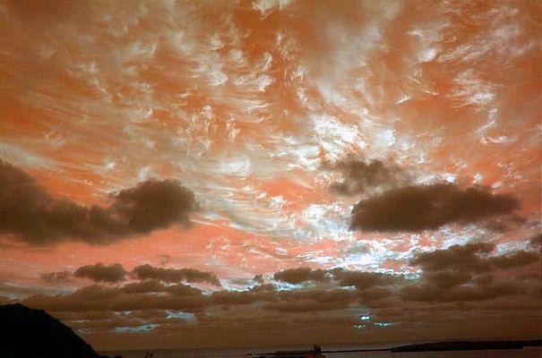 Sonnenaufgang Mars