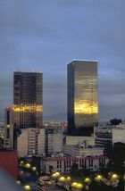 Sonnenaufgang Mexico D.F.
