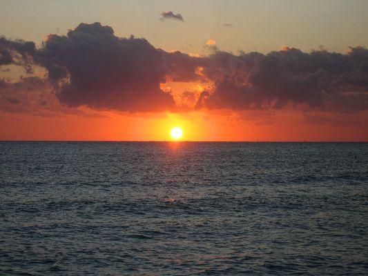 Sonnenaufgang Miami Beach