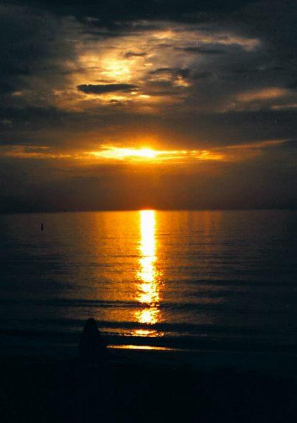 Sonnenaufgang Miami-Beach