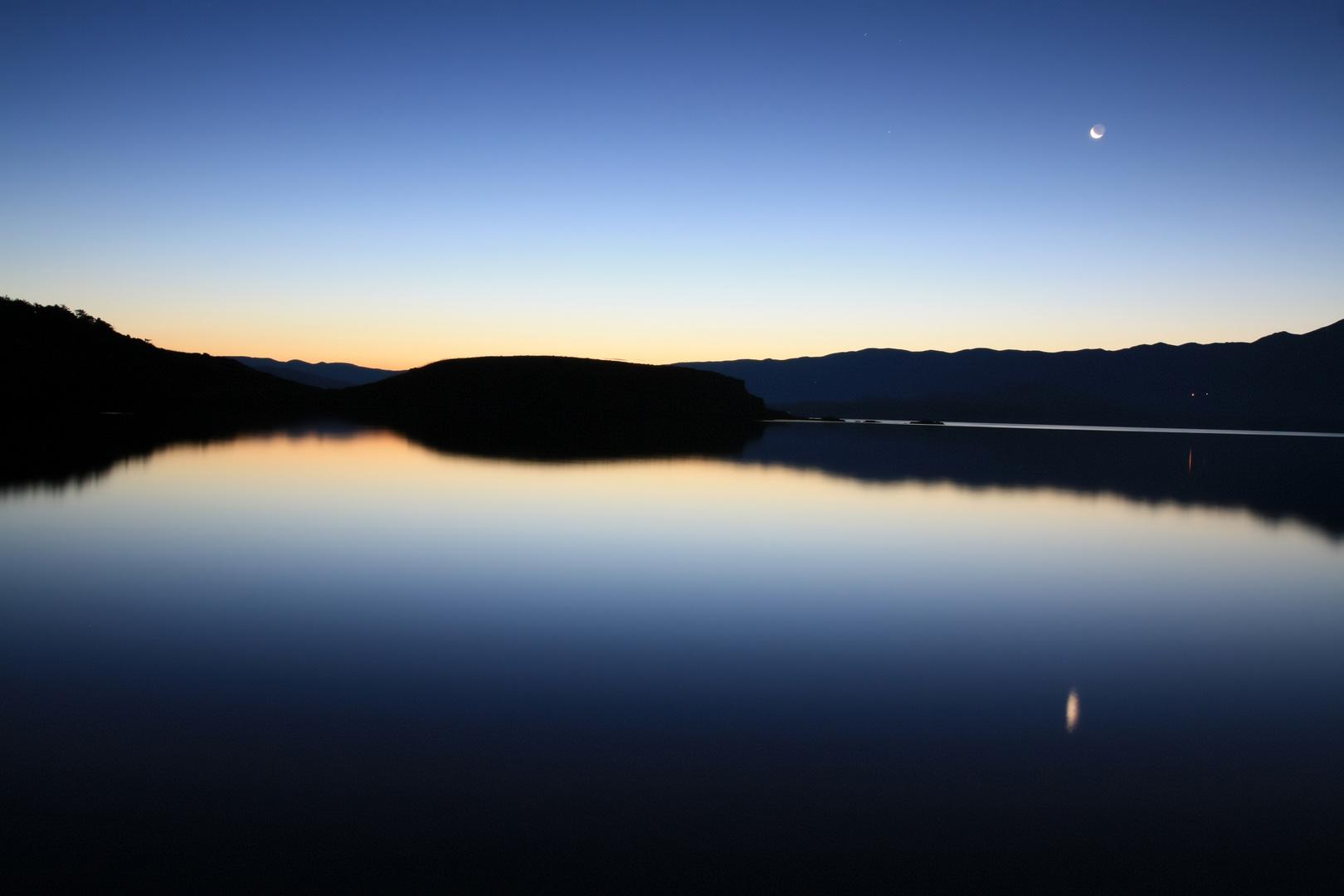 Sonnenaufgang mit Meerblick