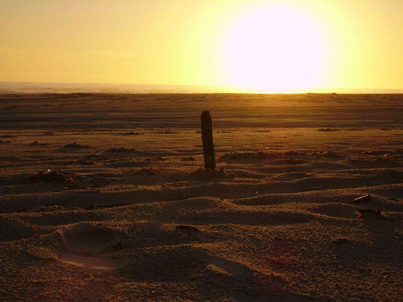 Sonnenaufgang mit Stock & Meer