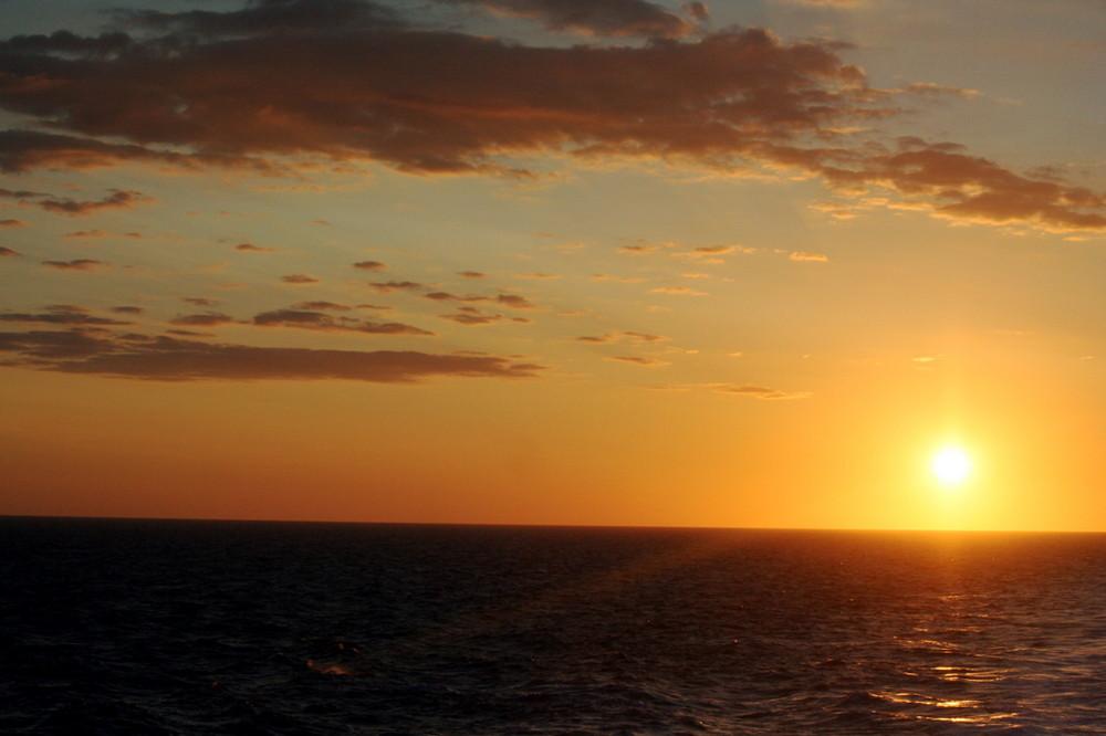 Sonnenaufgang - Mittelmeer