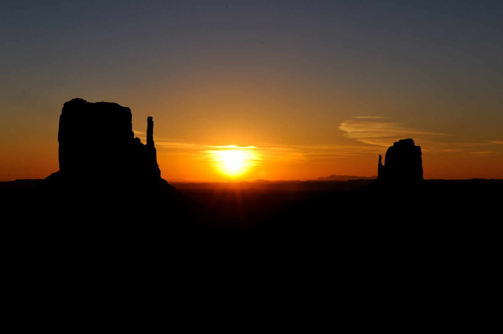 Sonnenaufgang Monument Valley