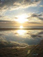Sonnenaufgang nach einem Unwetter...