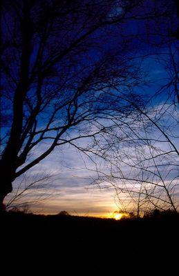 Sonnenaufgang Norddeutschland