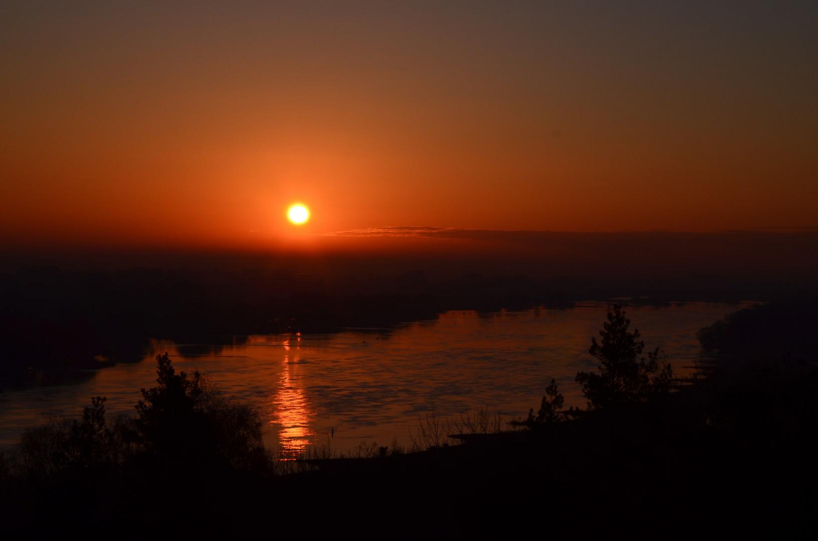 Sonnenaufgang - Ostersonntag 08.04.2012