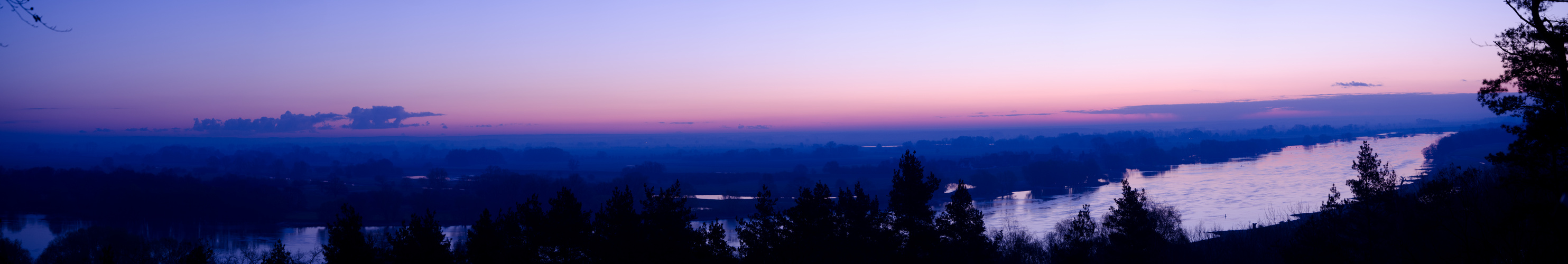 Sonnenaufgang Panorama - Ostersonntag 08.04.2012